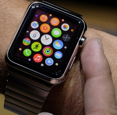 Apple Watch in the pushed Rolex
