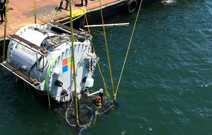 Microsoft is experimenting with an underwater data center
